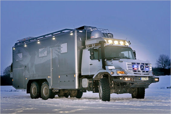 Luxurious 6x6 Beast From Stuttgart Expedition Motorhome Journalexpedition Motorhome Journal