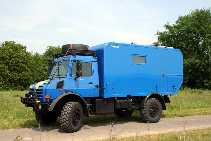Mercedes Benz Unimog U4000 By Bocklet Expedition Html Autos Weblog